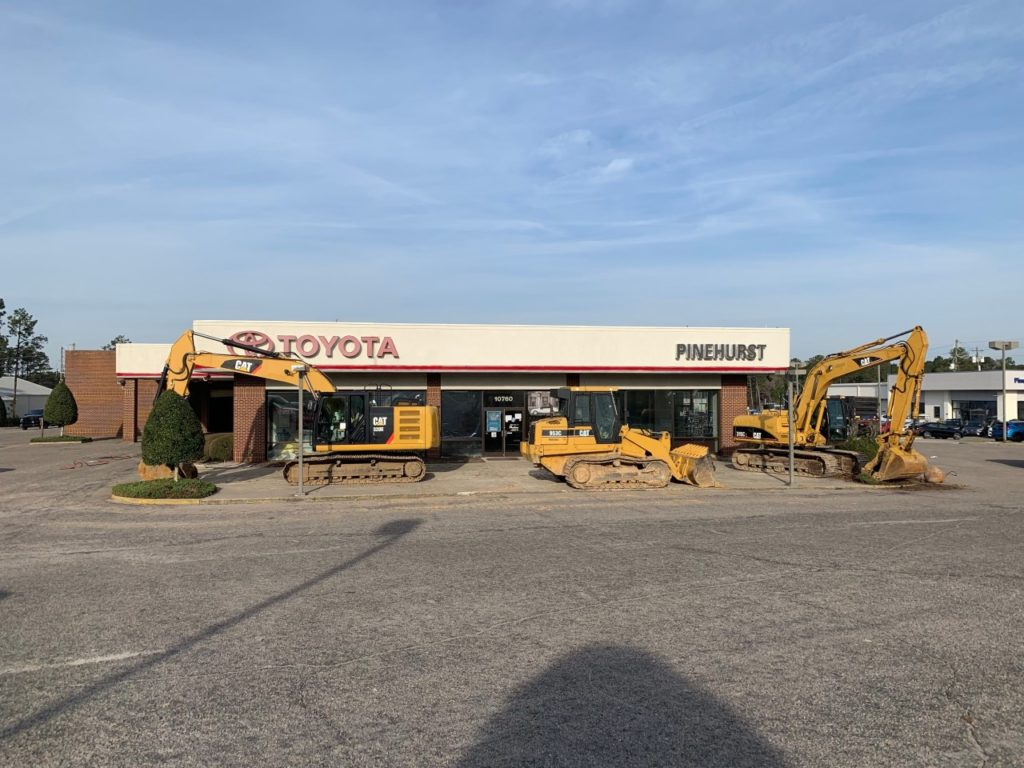 Dealership demolition is about to start. Having the General Contractor involved in preconstruction will help things go smoothly.