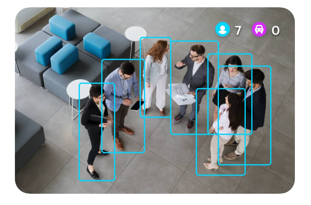 Intelligent Surveillance systems can be programmed to alert staff to create a better customer experience.